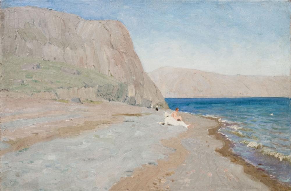 Картина «На пляже Черного моря»