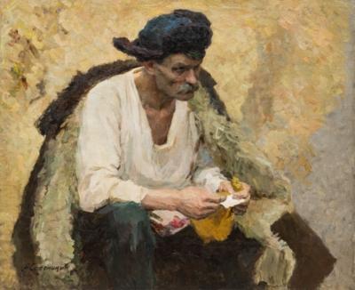 Картина «Портрет мужчины в шапке»