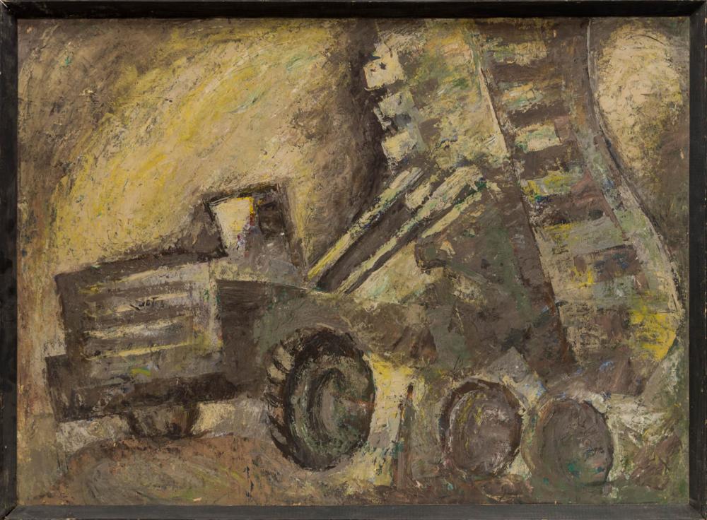 Картина «Стройка»