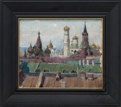 Картина «Московский кремль»