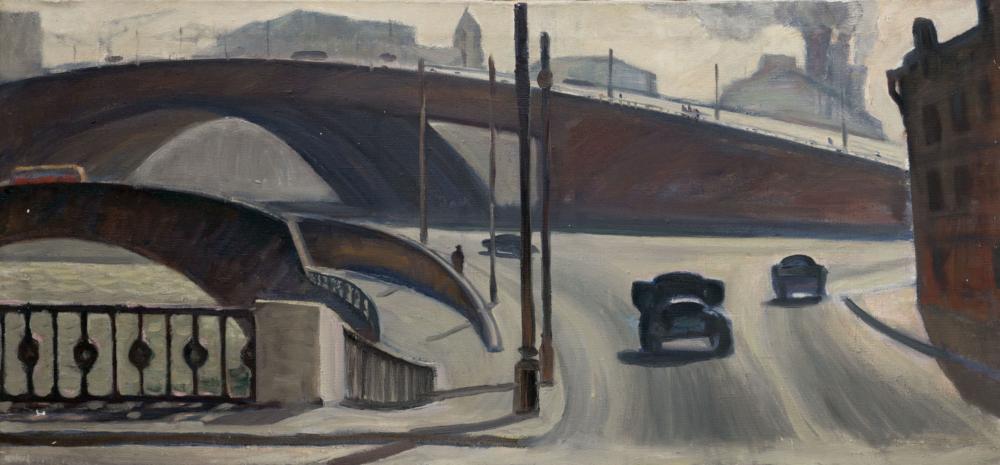 Картина «Устьинский мост»