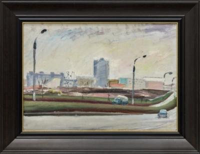 Картина «Московские улицы»