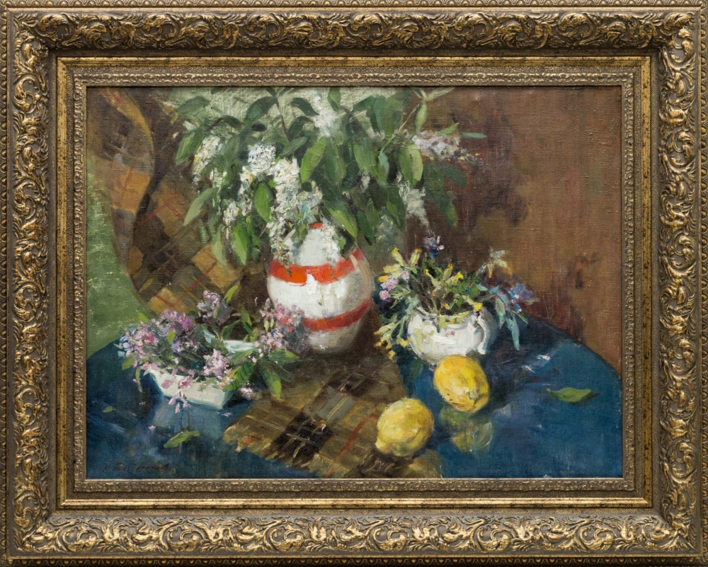 Картина «Натюрморт с лимоном»
