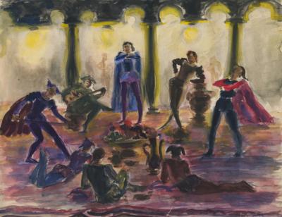 Театральный эскиз Магидсон