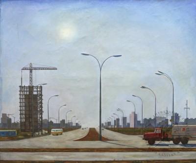 Картина «Тольятти строится»