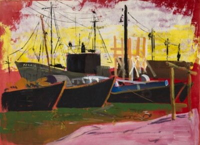 Картина «В порту»