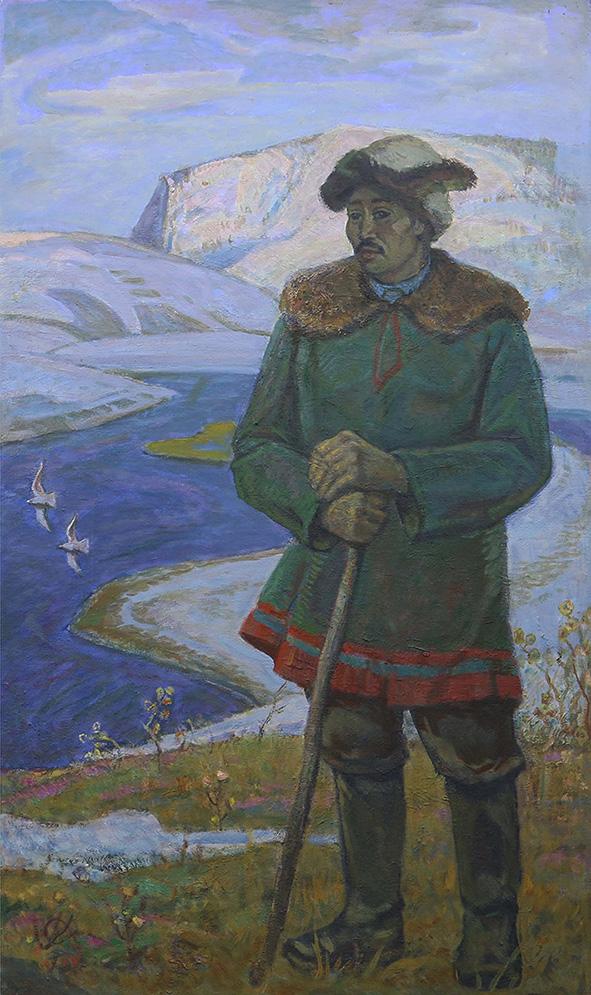 Картина «В тундре»