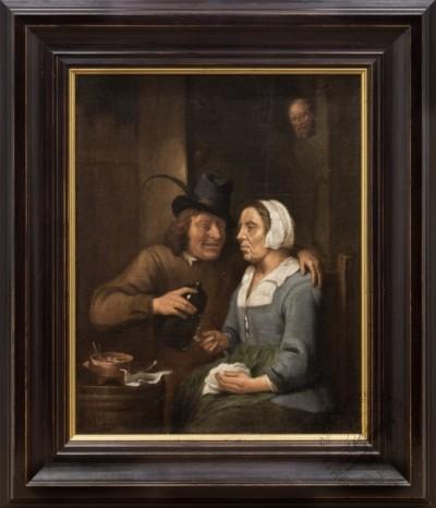 Картина «Сценка в кабачке»