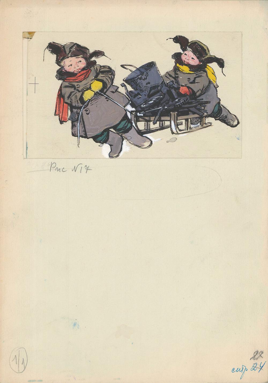 Рисунок «Витяшка и Лека»