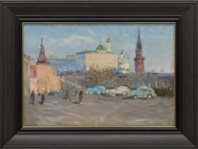 Картина «Солнечный день в Москве»
