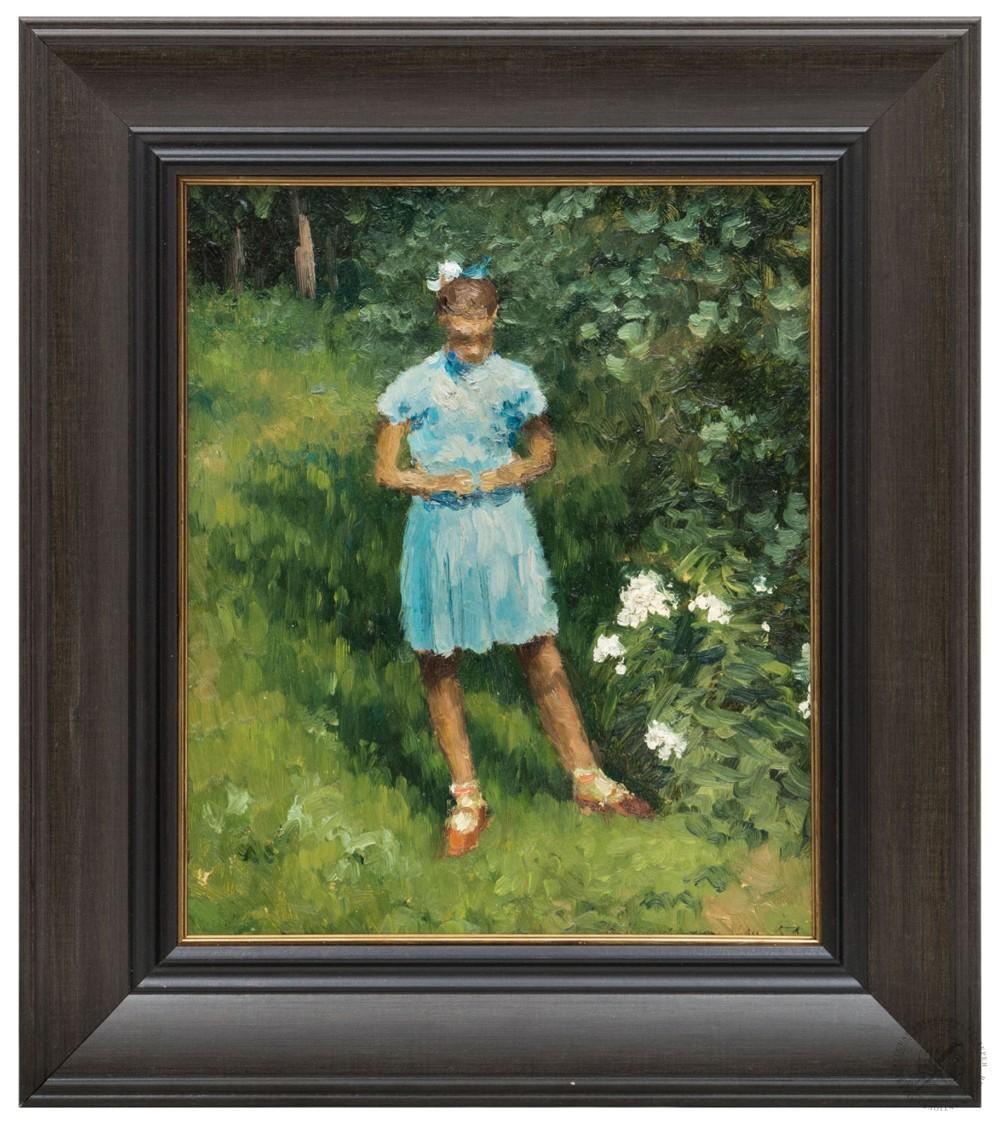 Картина «Девочка в голубом платье»