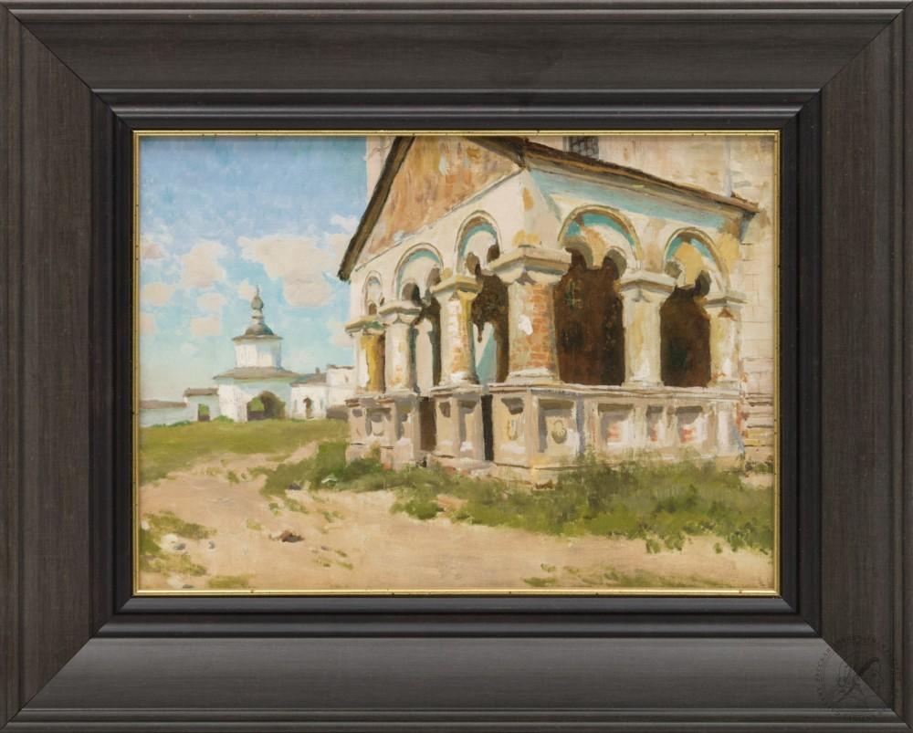 Картина «Старое крыльцо»