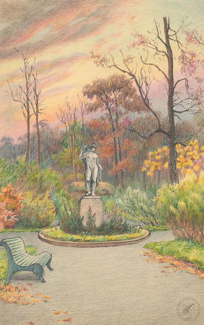 Рисунок «В парке»