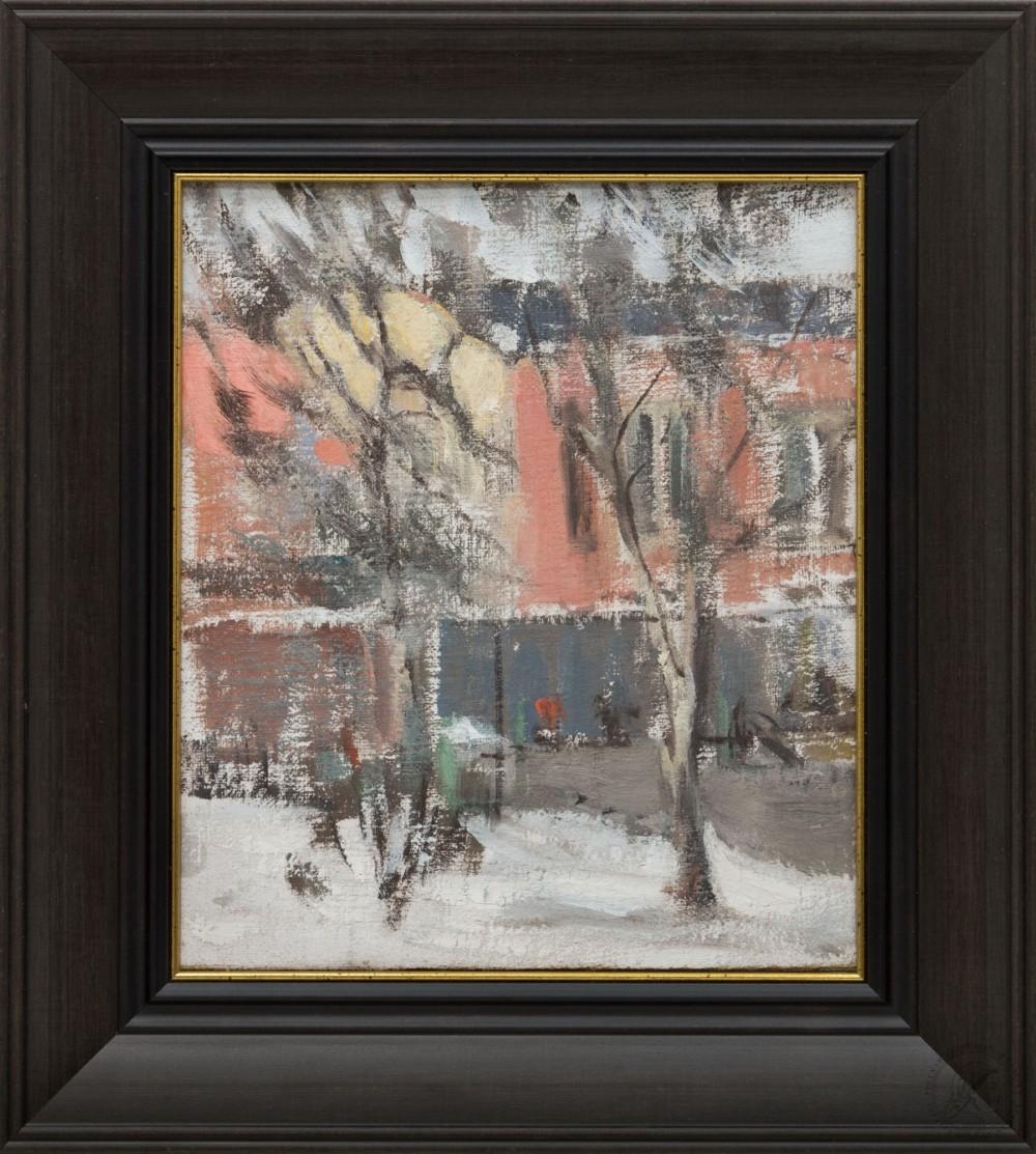 Картина «Зима в городе»