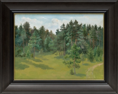 Картина «В молодом лесу»