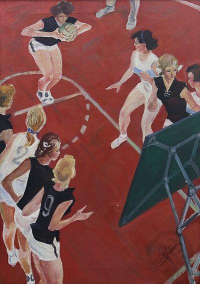 Картина «Женский баскетбол»