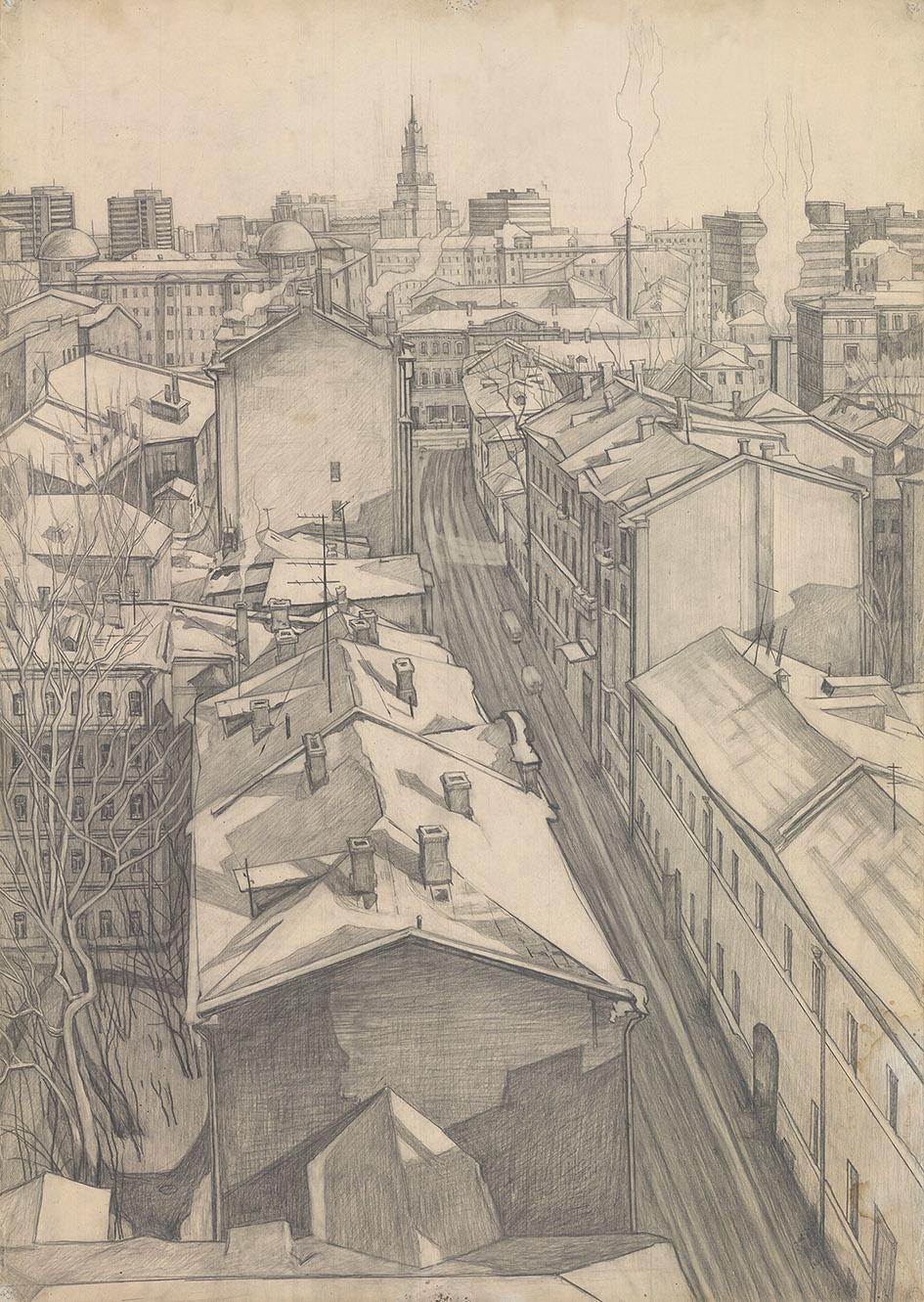 Рисунок «Арбатский переулок»