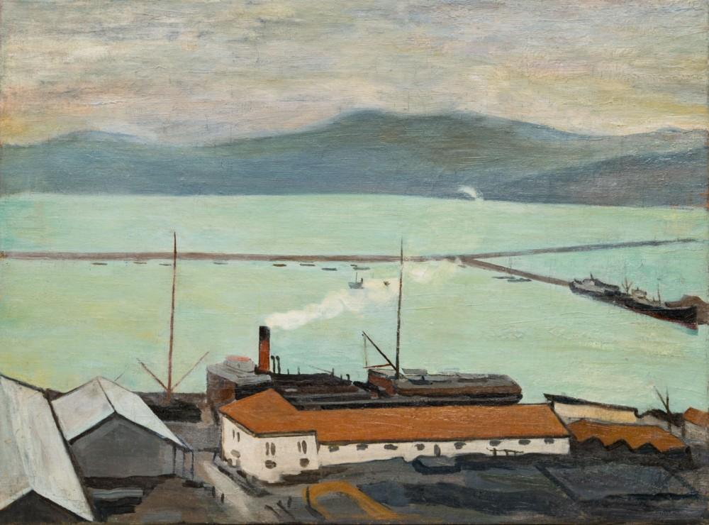 Картина «Северный порт. Мурманск.»