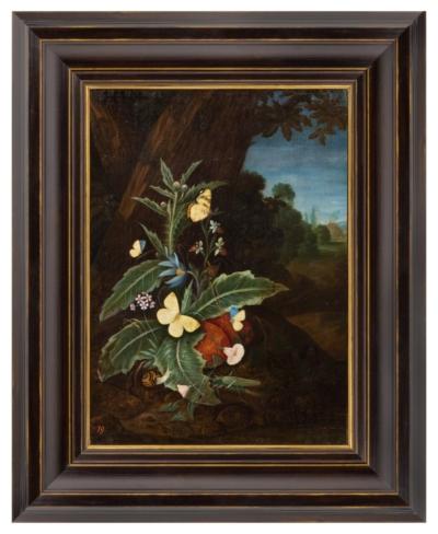 Картина «Чертополох и бабочки»