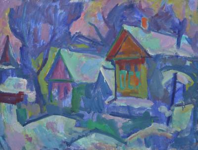 Картина «Зима в Переяславле»