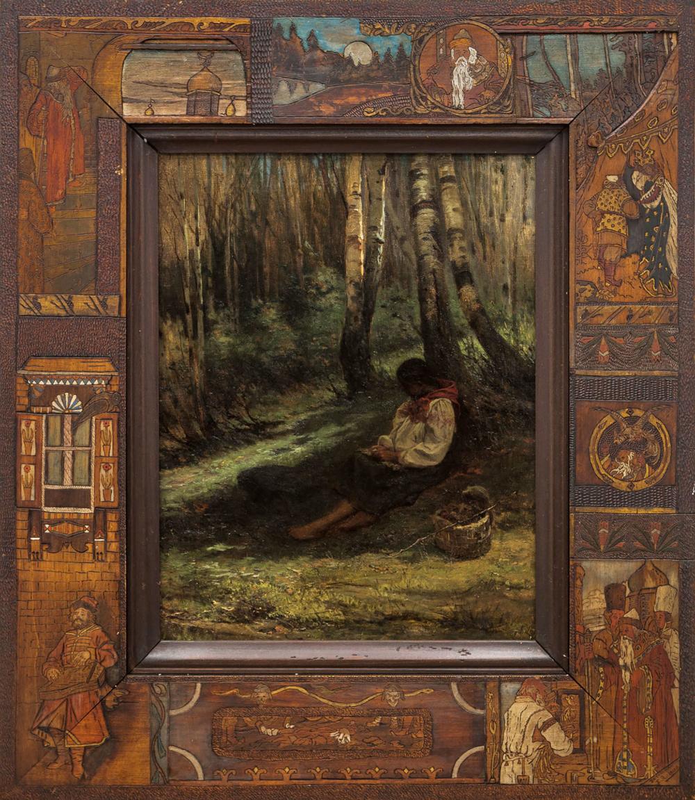 Картина «По грибы»