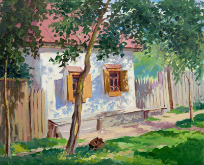 Картина «Черниговский дом»