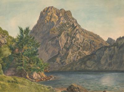 Пейзаж «Горное озеро»