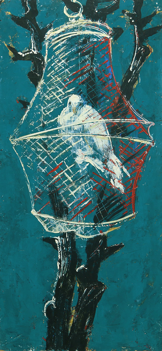 Картина «Птица в клетке»