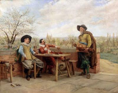 Шарманщик и мушкетёры