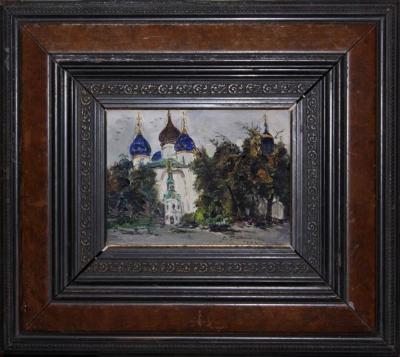 Картину Успенский собор художника Родимова