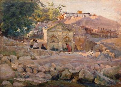 Горное селение Малютин