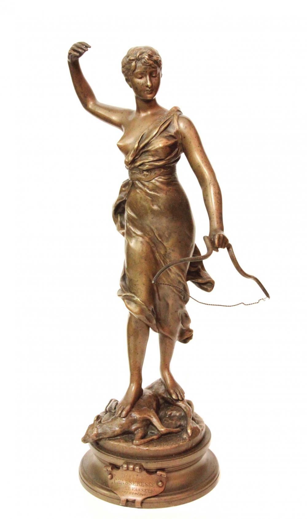 Бронзовая скульптура.