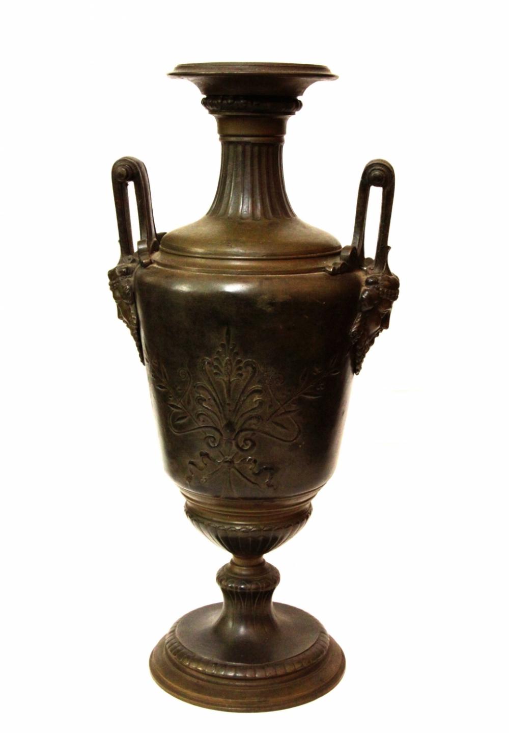 Ваза декоративная шпиатровая в античном стиле