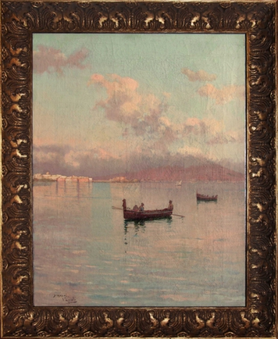 Лодки в Неаполитанском заливе