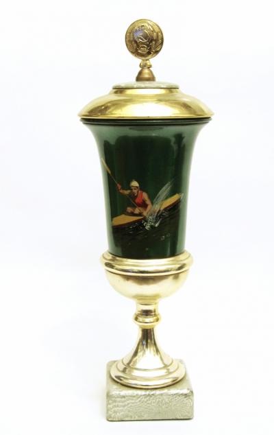 Кубок спортивный Гребля на байдарке