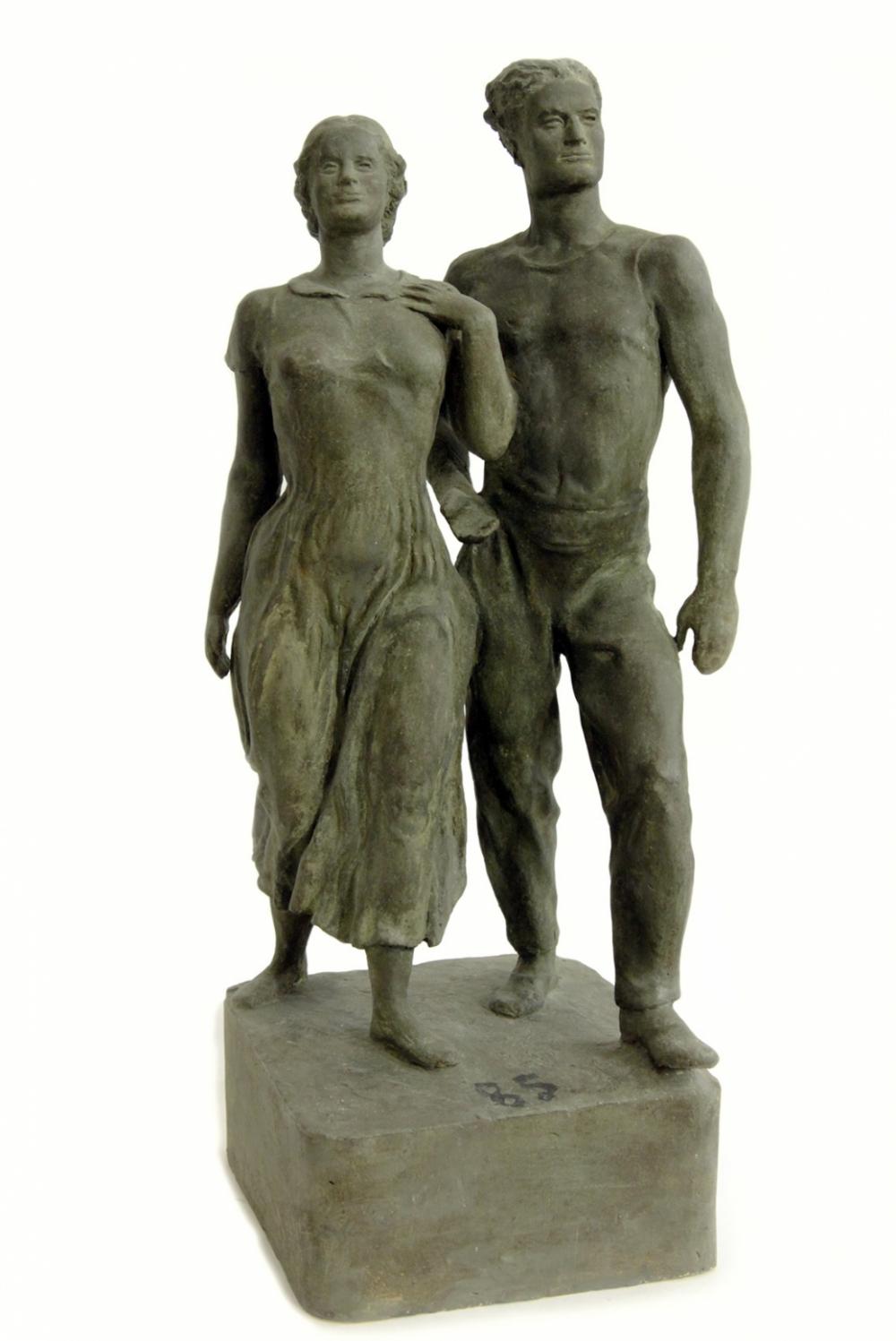 Скульптура гипсовая кабинетная