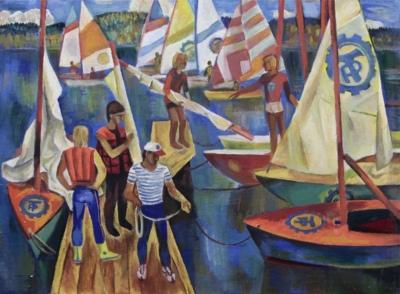 Картина Спортивное общество Трудовые резервы Смагина