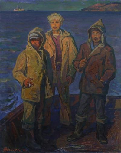 картина Возвращение художник Фролов