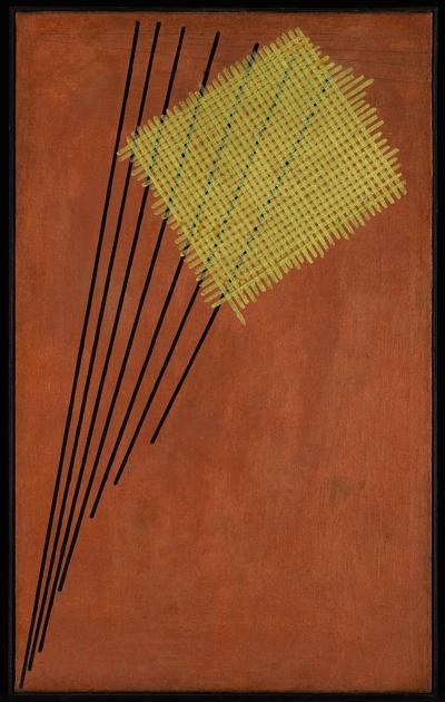 Александр Родченко. «Конструкция № 95».1919. Sotheby's, продано за £3,6 млн