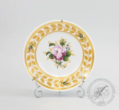 ИФЗ тарелка роза