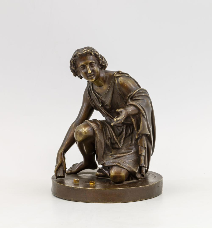 Скульптурная композиция «Игра в кости»