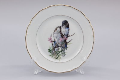 Тарелка декоративная Птицы