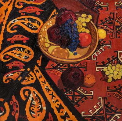 Картина Амангельдыев Фрукты на ковре