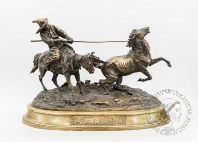 Ловля дикой лошади Лансере