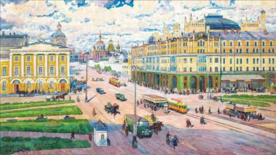 Корбан Москва в прошлом