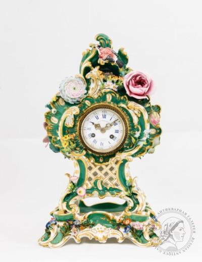 часы фарфор