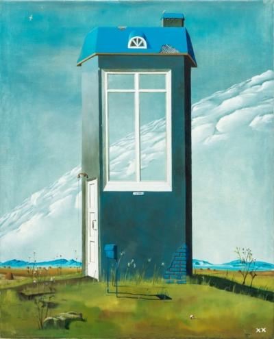 Гажур картина Дом