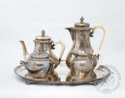 Чайно-кофейный сервиз из 5 предметов Бельгия