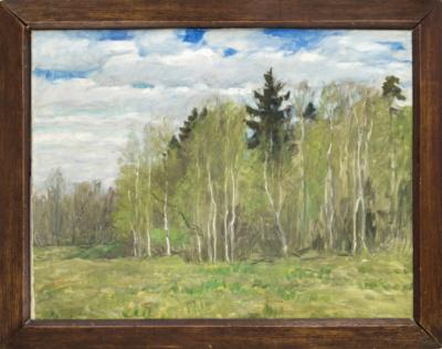 Бялыницкий-Бируля Весенний пейзаж