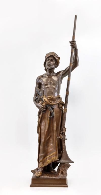 скульптура Арабский страж